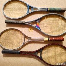 Coleccionismo deportivo: RAQUETAS DE TENIS ANTIGUAS VARIAS. Lote 267203809