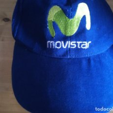 Coleccionismo deportivo: GORRA MOVISTAR. Lote 268914704