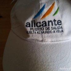 Coleccionismo deportivo: GORRA ALICANTE VUELTA AL MUNDO DE VELA. Lote 268915084