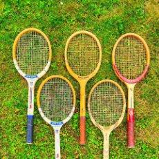 Coleccionismo deportivo: LOTE RAQUETAS DE TENIS MADERA SPALDING. Lote 270521053