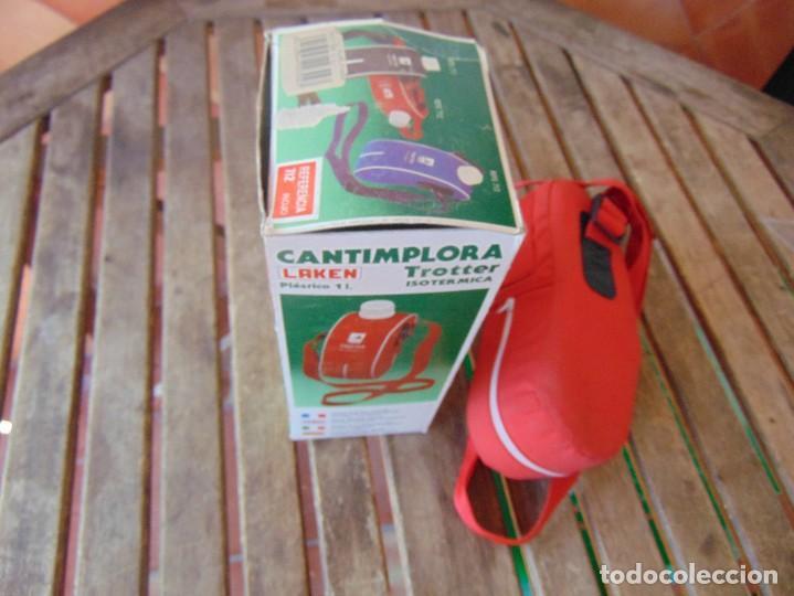 Coleccionismo deportivo: CANTIMPLORA ISOTERMICA MODELO TROTTER DE LAKEN CON SU CAJA - Foto 7 - 274273503
