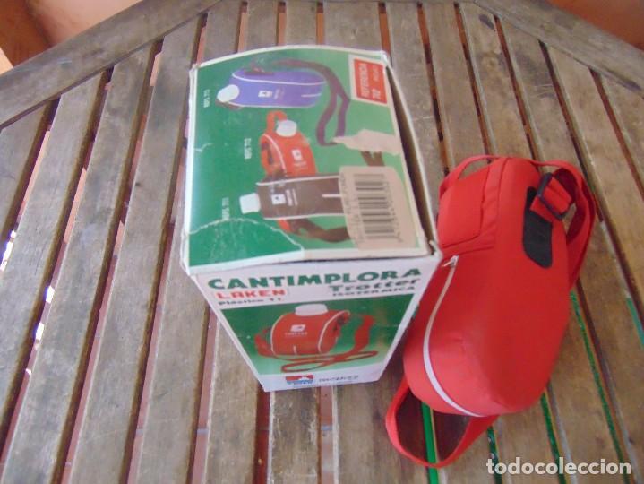 Coleccionismo deportivo: CANTIMPLORA ISOTERMICA MODELO TROTTER DE LAKEN CON SU CAJA - Foto 9 - 274273503