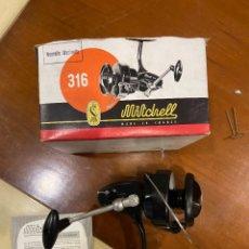 Coleccionismo deportivo: CARRETE MITCHELL 316 SIN USO CAJA. Lote 277536863