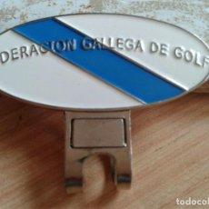 Coleccionismo deportivo: FEDERACION GALLEGA DE GOLF. Lote 277697888