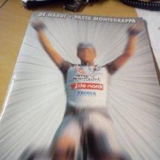 Coleccionismo deportivo: CUADERNO DE 20 HOJAS DEL EQUIPO CICLISTA DE NARDI 2002, CON. LAS FOTOS DE TODA LA PLANTILLA. Lote 277827413
