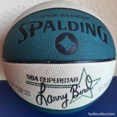 Coleccionismo deportivo: (F-210728)BALON SPALDING NBA SUPERSTAR LARRY BIRD BOSTON CELTICS EDICION ESPECIAL AÑOS 80. Lote 278173683