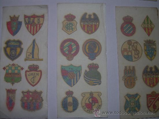 Coleccionismo deportivo: CALCOMANIAS DE FUTBOL DE LA CASA ORTEGA - Foto 2 - 27600553