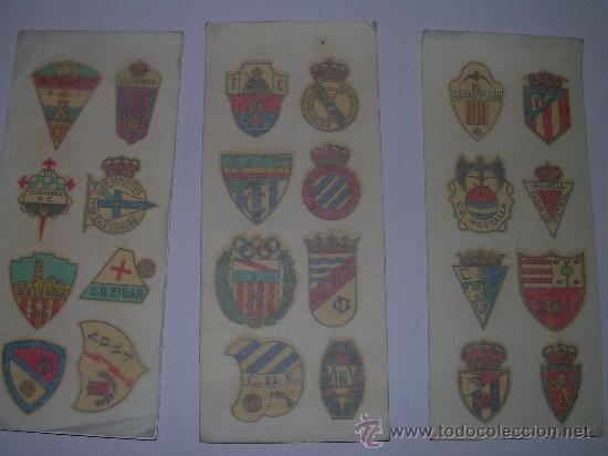 Coleccionismo deportivo: CALCOMANIAS DE FUTBOL DE LA CASA ORTEGA - Foto 3 - 27600553