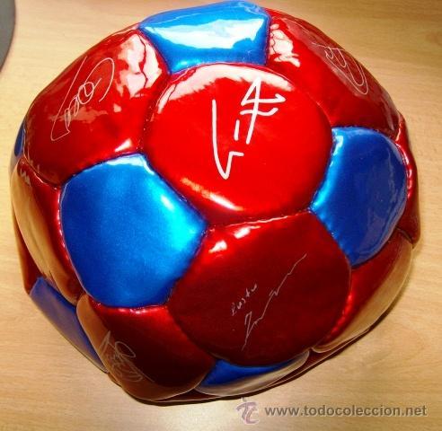 BALON FUTBOL - BARÇA / F C BARCELONA - SIN HINCHAR - SIN ESTRENAR - AÑO 2003 (Coleccionismo Deportivo - Material Deportivo - Fútbol)