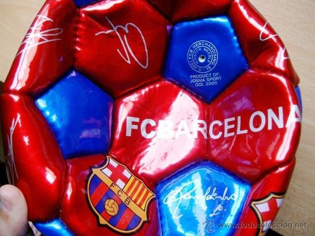 Coleccionismo deportivo: balon futbol - barça / f c barcelona - sin hinchar - sin estrenar - año 2003 - Foto 2 - 221290088