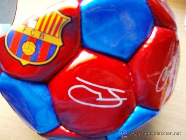 Coleccionismo deportivo: balon futbol - barça / f c barcelona - sin hinchar - sin estrenar - año 2003 - Foto 3 - 221290088