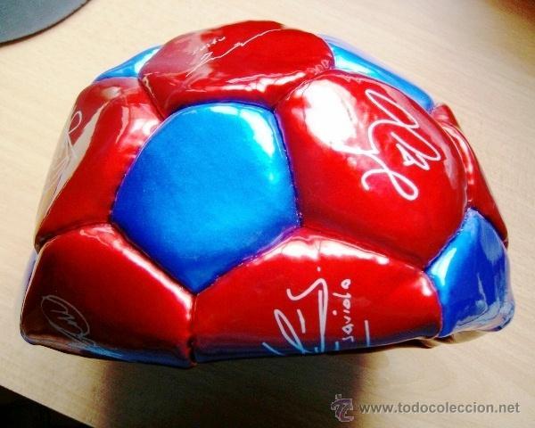 Coleccionismo deportivo: balon futbol - barça / f c barcelona - sin hinchar - sin estrenar - año 2003 - Foto 4 - 221290088