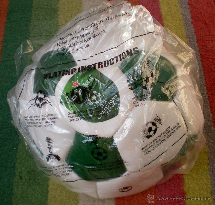 BALÓN DE FÚTBOL HEINEKEN (Coleccionismo Deportivo - Material Deportivo - Fútbol)