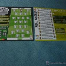 Coleccionismo deportivo: RASCA FÚTBOL 06 07 2006 2007 ( SIN USAR ) - REAL MADRID - MAGIC BOX INT. Lote 43372259