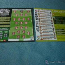 Coleccionismo deportivo: RASCA FÚTBOL 06 07 2006 2007 ( SIN USAR ) - ATLÉTICO MADRID - MAGIC BOX INT. Lote 48203419