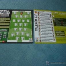 Coleccionismo deportivo: RASCA FÚTBOL 06 07 2006 2007 ( SIN USAR ) - VALENCIA CF - MAGIC BOX INT. Lote 48203466