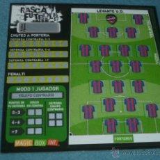 Coleccionismo deportivo: RASCA FÚTBOL 06 07 2006 2007 ( SIN USAR ) - LEVANTE UD - MAGIC BOX INT. Lote 43372579