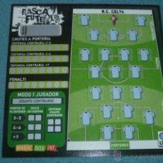 Coleccionismo deportivo: RASCA FÚTBOL 06 07 2006 2007 ( SIN USAR ) - R.C. CELTA DE VIGO - MAGIC BOX INT. Lote 208681978