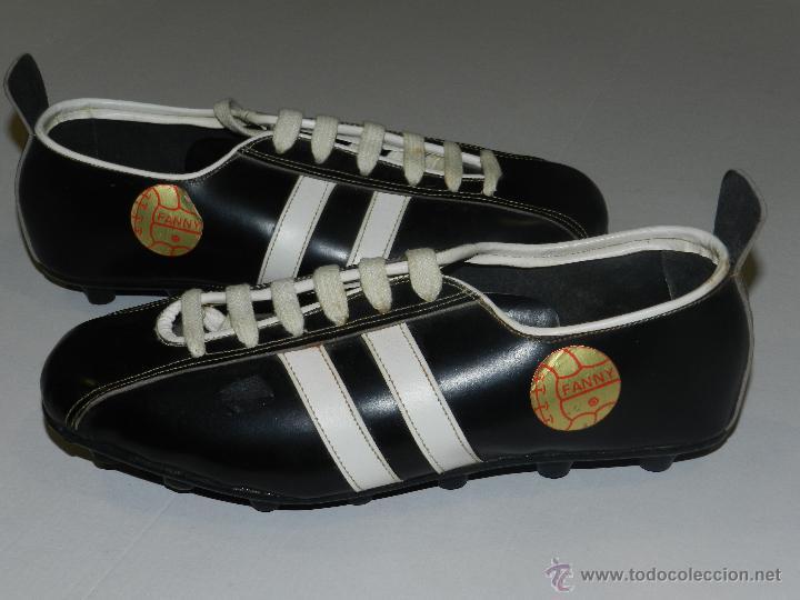 (M) BOTAS DE FUTBOL AÑOS 70 - MARCA OLYMPIC ( FANNY ) , TOTALMENTE NUEVAS (Coleccionismo Deportivo - Material Deportivo - Fútbol)