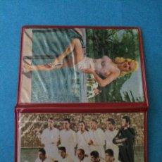 Coleccionismo deportivo: CARTERA DEL REAL MADRID CLUB DE FUTBOL Y ACTRIZ - AÑOS 60/70. Lote 46695819