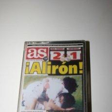 Coleccionismo deportivo: REAL MADRID.DIARIO AS. CINTA DE CASETTE PROMOCIONAL SIN DESPRECINTAR ALIRON. . Lote 48360234