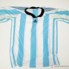 Coleccionismo deportivo: RARA CAMISETA REMERA ANTIGUA VINTAGE SELECCION ARGENTINA ADIDAS POR GATIC TALLA 1 . Lote 49065177