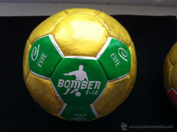BALON DE FUTBOL, PROMOCION-OBSEQUIO EDICIONES ESTE. BOMBER E-12 (Coleccionismo Deportivo - Material Deportivo - Fútbol)