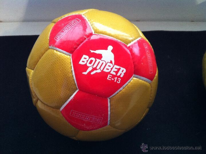 BALON DE FUTBOL, PROMOCION-OBSEQUIO EDICIONES PANINI. BOMBER E-13 (Coleccionismo Deportivo - Material Deportivo - Fútbol)
