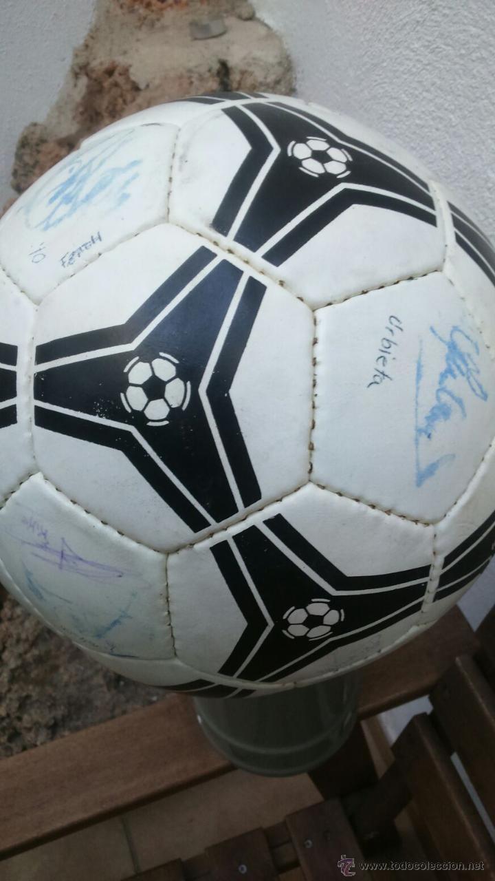 BALON FIRMADO GRANADA CF 95/96 (Coleccionismo Deportivo - Material Deportivo - Fútbol)