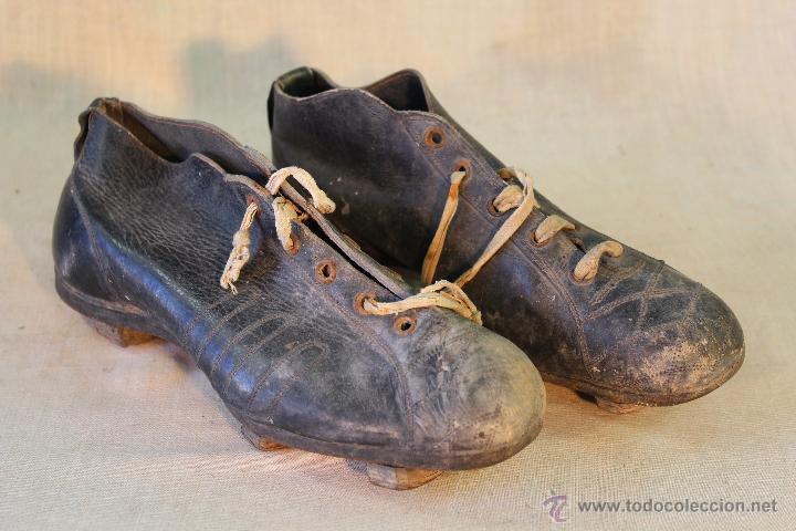 Botines - botas de futbol 1930 y espinilleras - Vendido en Venta ... 2b2cb6dd88f98