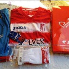 Coleccionismo deportivo: EQUIPACION FC GRANADA ORIGINAL MARCA JOMA PARA NIÑO DE 12 A 14 AÑOS NUEVO A ESTRENAR VER FOTOS. Lote 53029250