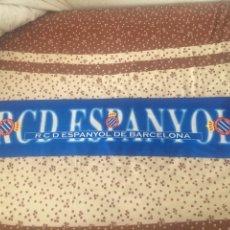 Coleccionismo deportivo: BUFANDA RCD ESPANYOL BARCELONA. Lote 53331045