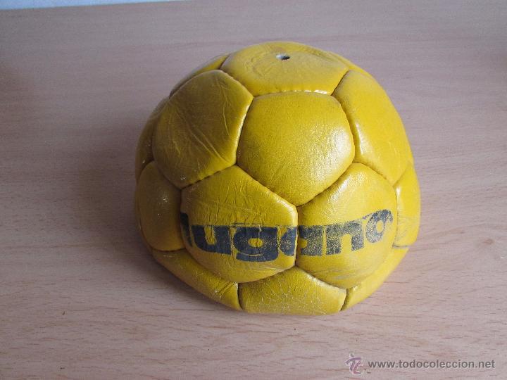 BALÓN DE FÚTBOL - CUERO - ANTIGUO - SIN USAR (Coleccionismo Deportivo - Material Deportivo - Fútbol)