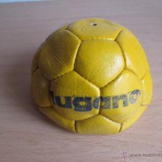 Coleccionismo deportivo: BALÓN DE FÚTBOL - CUERO - ANTIGUO - SIN USAR. Lote 54205332