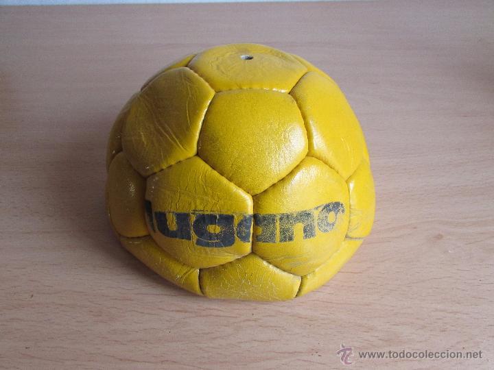 Coleccionismo deportivo: BALÓN DE FÚTBOL - CUERO - ANTIGUO - SIN USAR - Foto 5 - 54205332