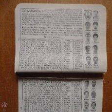 Coleccionismo deportivo: DOS PEQUEÑAS HOJAS FUTBOL - CLUB DEPORTIVO NUMANCIA. Lote 54571208