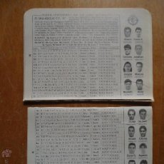 Coleccionismo deportivo: DOS PEQUEÑAS HOJAS FUTBOL - REAL VALLADOLID. Lote 54571397
