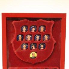 Coleccionismo deportivo: 22 CHAPAS DE CAVA DE JUGADORES DEL F.C. BARCELONA. Lote 55331703