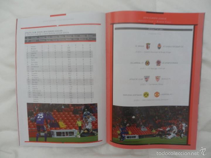 Coleccionismo deportivo: PROGRAMA OFICIAL PARTIDO DE FÚTBOL ATHLETIC BILBAO- SEVILLA. (EUROPA LEAGUE 2015-2016) - Foto 4 - 56122273