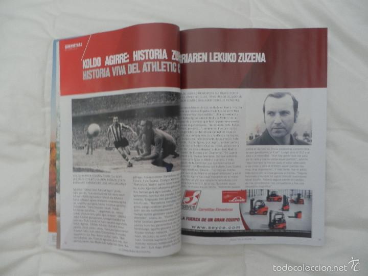 Coleccionismo deportivo: PROGRAMA OFICIAL PARTIDO DE FÚTBOL ATHLETIC BILBAO- RAYO VALLECANO. LIGA 2015-2016 - Foto 4 - 56122443