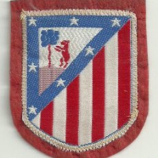 Coleccionismo deportivo: ESCUDO DE TELA AT.MADRID (ATLETICO). Lote 56490003
