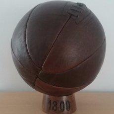 Coleccionismo deportivo: BALON DE FUTBOL AÑOS 1800-1850. HECHO DE PIEL. REEDICION. Lote 56761734