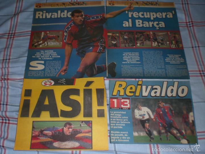JUGADORES BRASILEÑOS BARÇA (Coleccionismo Deportivo - Material Deportivo - Fútbol)