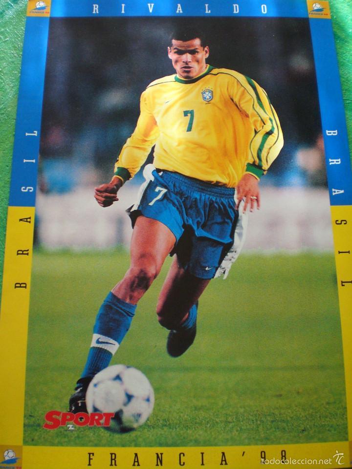 Coleccionismo deportivo: jugadores brasileños Barça - Foto 2 - 57531082
