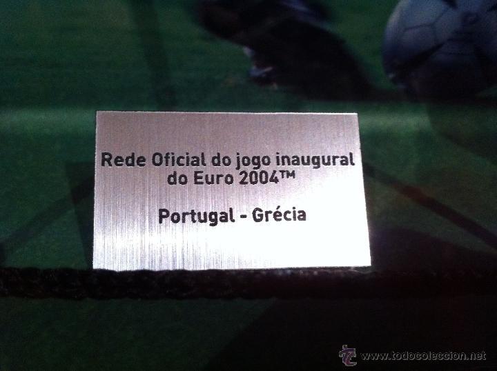 Coleccionismo deportivo: RED OFICIAL PARTIDO FÚTBOL INAUGURACIÓN EURO 2004 PORTUGAL. CON CERTIFICADO - Foto 5 - 57607157