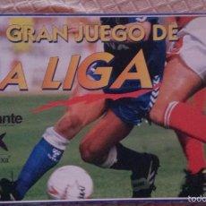 Coleccionismo deportivo: EL GRAN JUEGO DE LA LIGA, CAJA ORIGINAL,AÑO 1996-97. Lote 57828167
