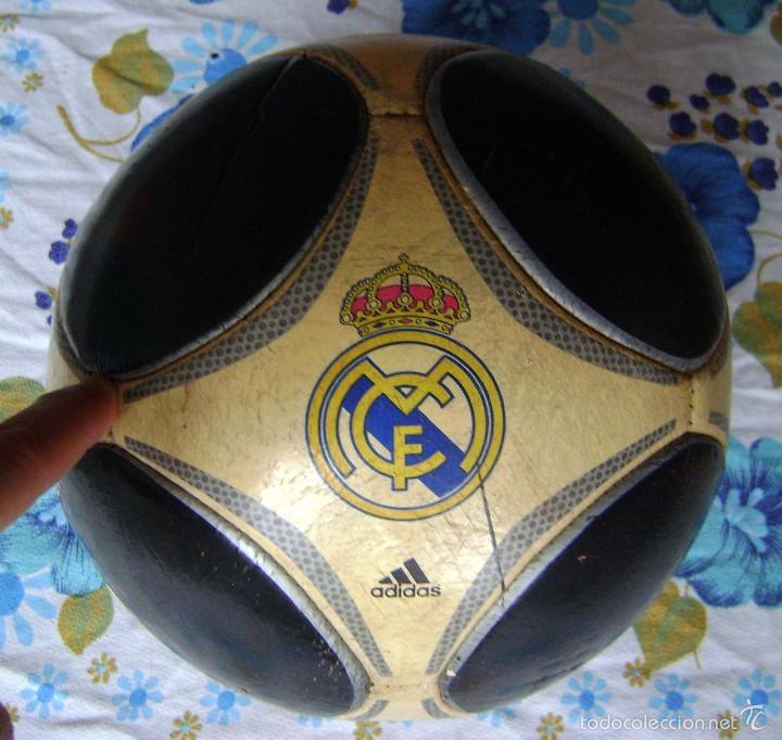 BALÓN ANTIGUO REAL MADRID ADIDAS CAPITANO 5 (Coleccionismo Deportivo - Material Deportivo - Fútbol)