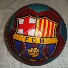 Coleccionismo deportivo: BALON F.C BARCELONA DE CUERO JOSMA SPORT 2000. Lote 58488840