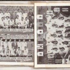 Collectionnisme sportif: VALENCIA CLUB DE FÚTBOL. CARTERA DE PLÁSTICO RECORDATORIO DE TÍTULOS + PARTICIPACIÓN DE LOTERÍA. Lote 60332087