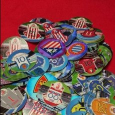 Coleccionismo deportivo: LOTE 94 TAZOS MATUTANO LIGA 12-13 2012/2013 NO REPETIDOS. Lote 60888399